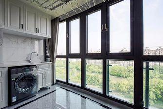 130平米三室一厅欧式风格阳台图片大全