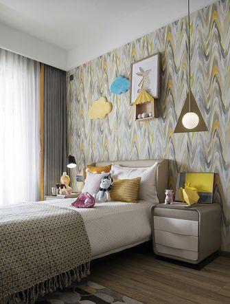 110平米三室一厅混搭风格儿童房装修图片大全