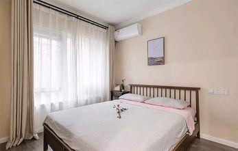 110平米三室两厅北欧风格卧室图片