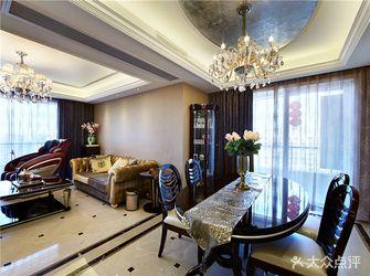 130平米四室两厅新古典风格餐厅装修图片大全