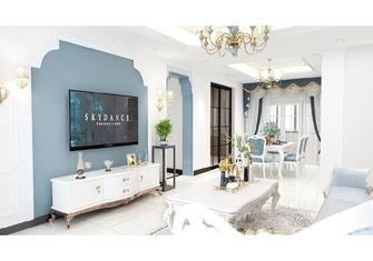 110平米三室一厅地中海风格客厅图