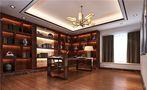 20万以上140平米四室三厅田园风格书房装修案例