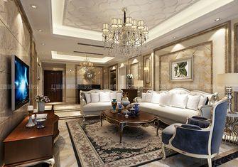 豪华型140平米三室三厅欧式风格客厅效果图