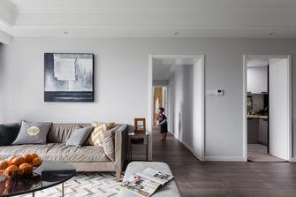 20万以上100平米三室两厅现代简约风格客厅图