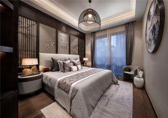 110平米三室两厅中式风格卧室欣赏图
