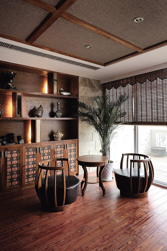 90平米别墅东南亚风格阳台欣赏图