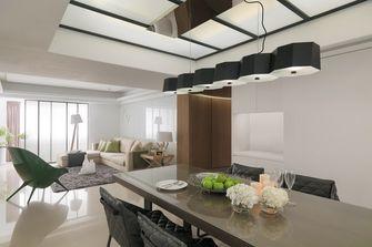100平米三室三厅中式风格餐厅图片