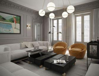 70平米一居室法式风格客厅设计图