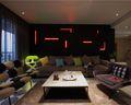 经济型90平米现代简约风格客厅装修图片大全