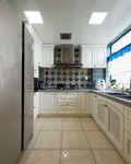 130平米美式风格厨房效果图