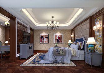 140平米四室三厅现代简约风格卧室图片大全