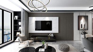 90平米三室三厅英伦风格客厅欣赏图