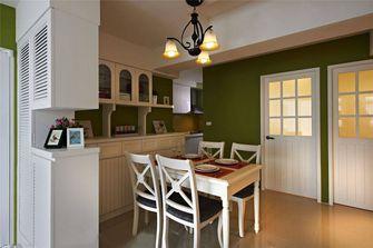 60平米一室一厅田园风格玄关图片