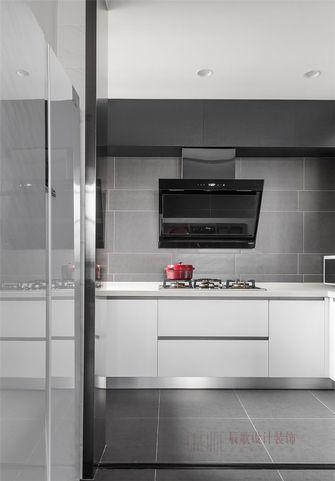 3万以下140平米别墅北欧风格厨房欣赏图