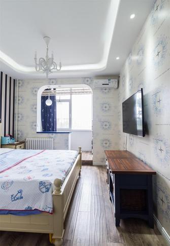 50平米小户型地中海风格卧室设计图