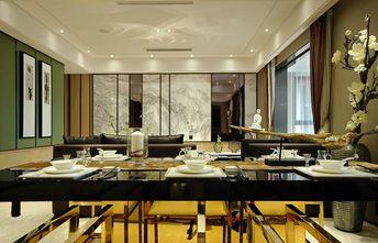 140平米四室一厅中式风格餐厅图片