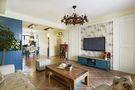 5-10万80平米混搭风格客厅装修案例
