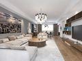 140平米三室两厅英伦风格客厅欣赏图