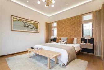 140平米别墅日式风格卧室欣赏图