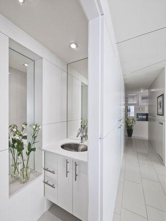 80平米三室一厅英伦风格走廊欣赏图