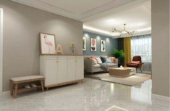60平米一室两厅现代简约风格客厅欣赏图