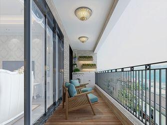 100平米四其他风格阳台设计图