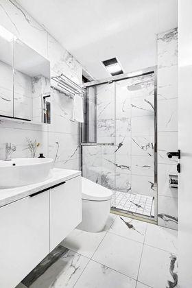 80平米三室兩廳北歐風格衛生間裝修圖片大全