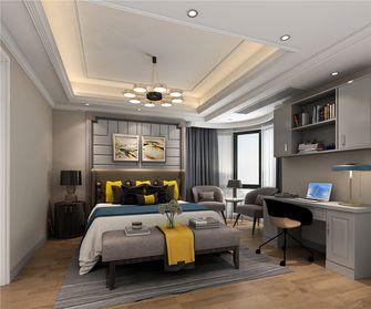 140平米三室三厅美式风格卧室装修案例