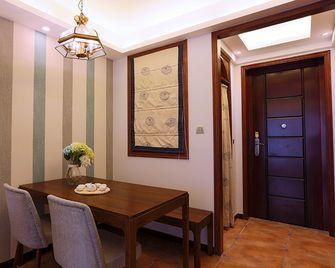 90平米三室两厅东南亚风格餐厅设计图