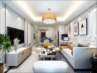 90平米三室两厅欧式风格客厅图片大全