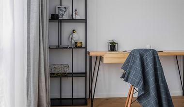 140平米三室两厅北欧风格卧室装修案例