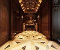 140平米四室四厅英伦风格走廊欣赏图