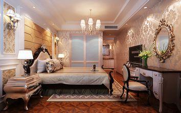 140平米四室一厅英伦风格卧室图片