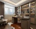 130平米三室两厅英伦风格书房装修效果图