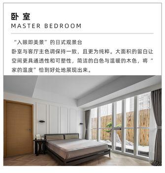 经济型60平米一居室现代简约风格卧室图片大全