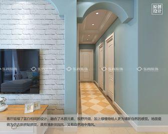 100平米三室两厅地中海风格走廊装修效果图