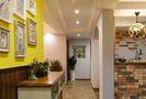 110平米美式风格走廊装修图片大全