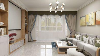 90平米三室两厅日式风格客厅欣赏图