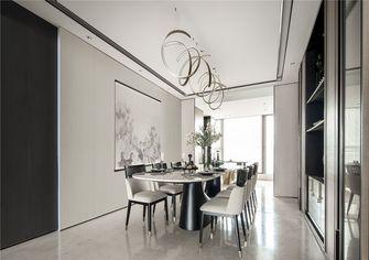 110平米三室两厅中式风格餐厅图片