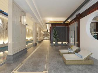 140平米别墅法式风格健身室装修效果图