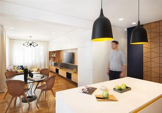 90平米三室两厅日式风格餐厅图片