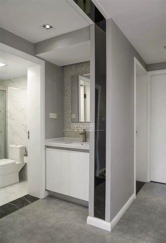140平米三室两厅北欧风格卫生间橱柜图片大全