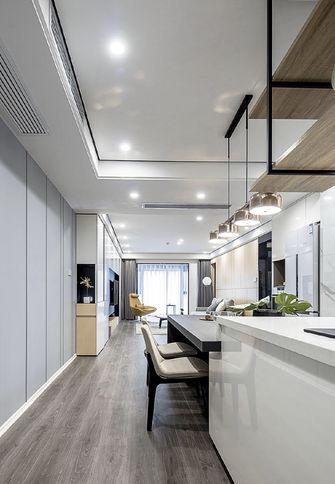 130平米三室三厅现代简约风格厨房图