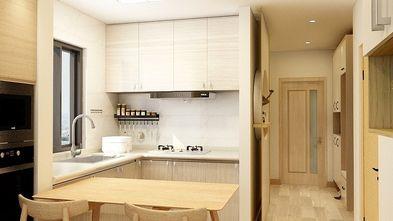 60平米一室一厅日式风格厨房图