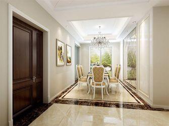 140平米三室一厅欧式风格餐厅装修图片大全