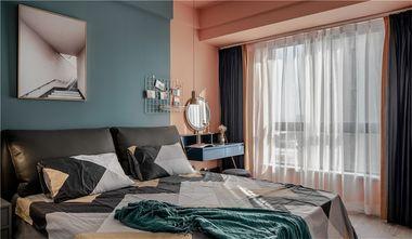 80平米三室两厅北欧风格卧室设计图