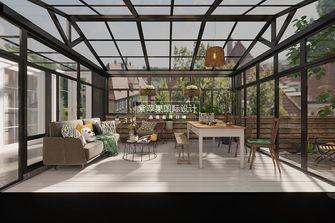 140平米别墅北欧风格阳光房装修效果图