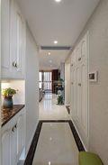 80平米三室两厅现代简约风格走廊图