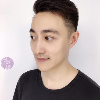 男士剪发效果图