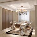 130平米四室四厅欧式风格客厅装修效果图